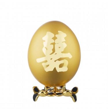 Trứng gà chữ HỈ