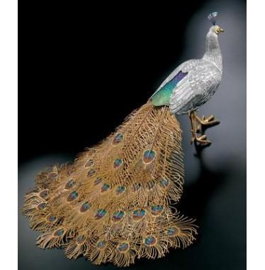 Tượng chim Công trống Comyns