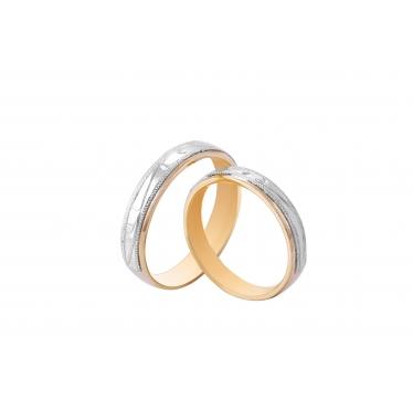 Nhẫn cưới WG GG họa tiết 2077LMWR