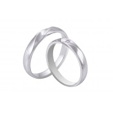 Nhẫn cưới WG kim cương 0059LM