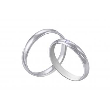 Nhẫn cưới WG kim cương 0280LM