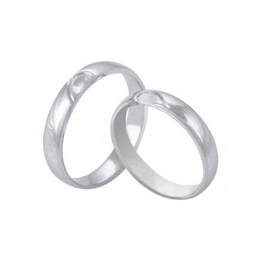 Nhẫn cưới WG trái tim 100LM