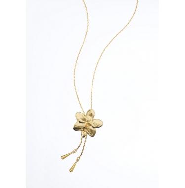 Dây chuyền dài hoa lan AS1